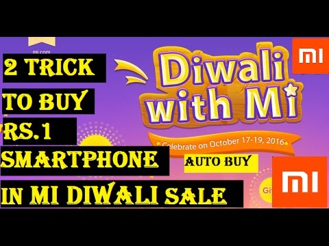 Trick to Buy 1 Rs Smartphones in Mi Diwali Sale 2016 scripts and autobuy | Techno authority