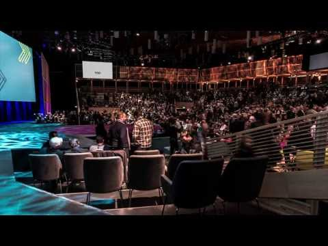 The TED2014 pop-up theater: A timelapse