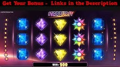 Starburst Slot Machine with Big Wins & Free Spins - No Deposit Online Casinos