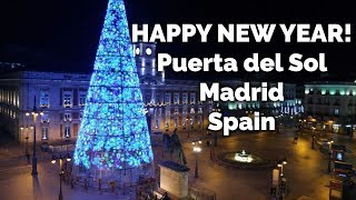 New Year's Eve 2017 from Puerta del Sol, Madrid. Happy 2017!