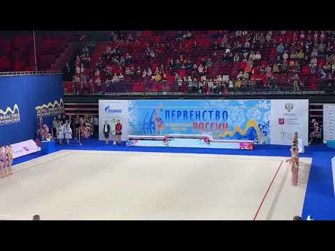 Первенство России по художественной гимнастике НАГРАЖДЕНИЯ 2020