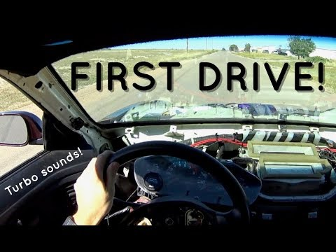 Pt.12   Project Build Giveaway   FIRST DRIVE!   2JZ Swapped Nissan 240sx  