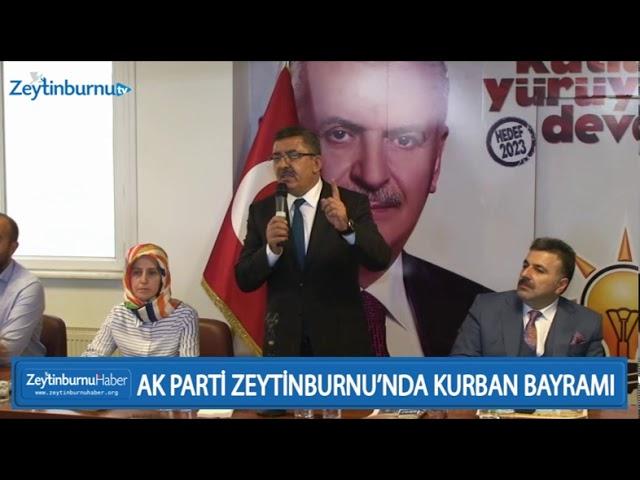 AK PARTİ ZEYTİNBURNU'NDA KURBAN BAYRAMI