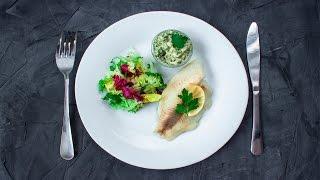 Тартар - идеальный соус для тилапии на пару :) | 30 минут