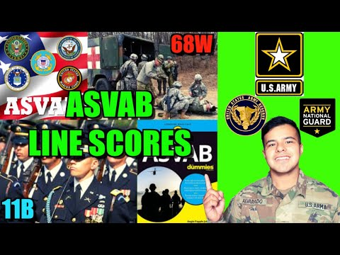 What ASVAB Line Scores Do You Need For These Army Jobs?!? | Joining The Army (2020)
