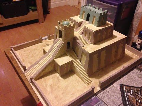 Model Sumerian Ziggurat - Chevy's Creative Workshop