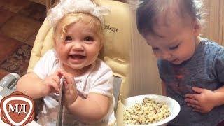 ЛИЗА и ГАРРИ ГАЛКИНЫ в раннем детстве! Новое видео из семейного архива Пугачевой и Галкина!