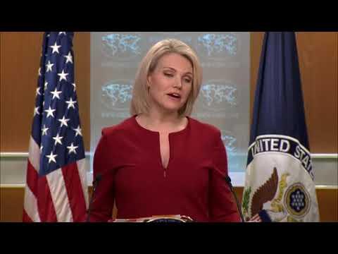 DFN: State Department Press Briefing, WASHINGTON, DC, UNITED STATES, 02.16.2018