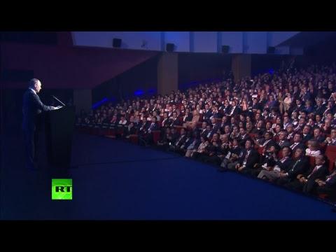 Выступление Путина на открытии промышленной выставки «Иннопром»