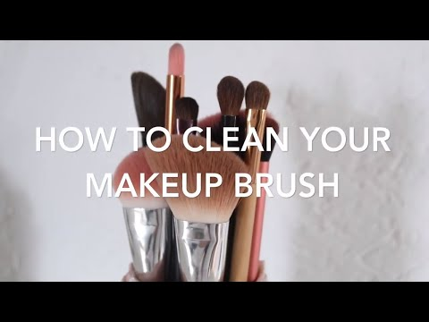 How To Clean Your Makeup Brushes | Beauty School