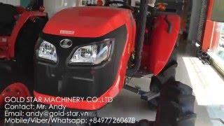 Kubota tractor L4508 and M6040