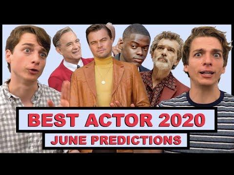 Best Actor 2020.Best Actor Predictions 2020 June