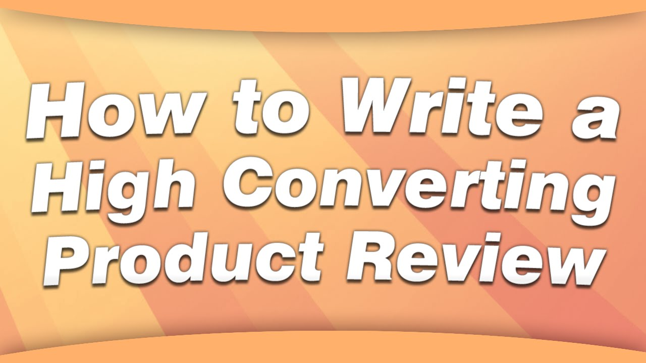 how to become a product reviewer on youtube
