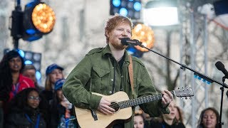 Shape of You - Ed Sheeran (Live on Today Show)