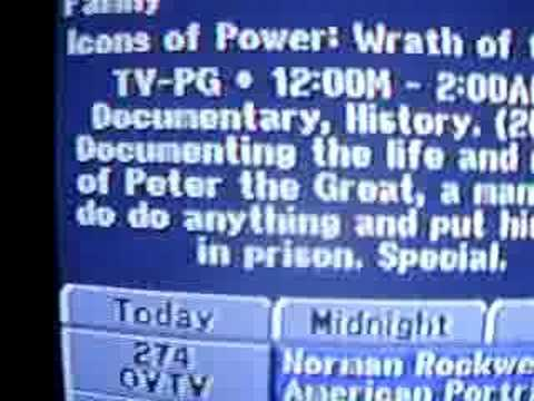 funny typo on direct tv program guide youtube rh youtube com DirecTV Now TV Guide direct tv program guide schedule march