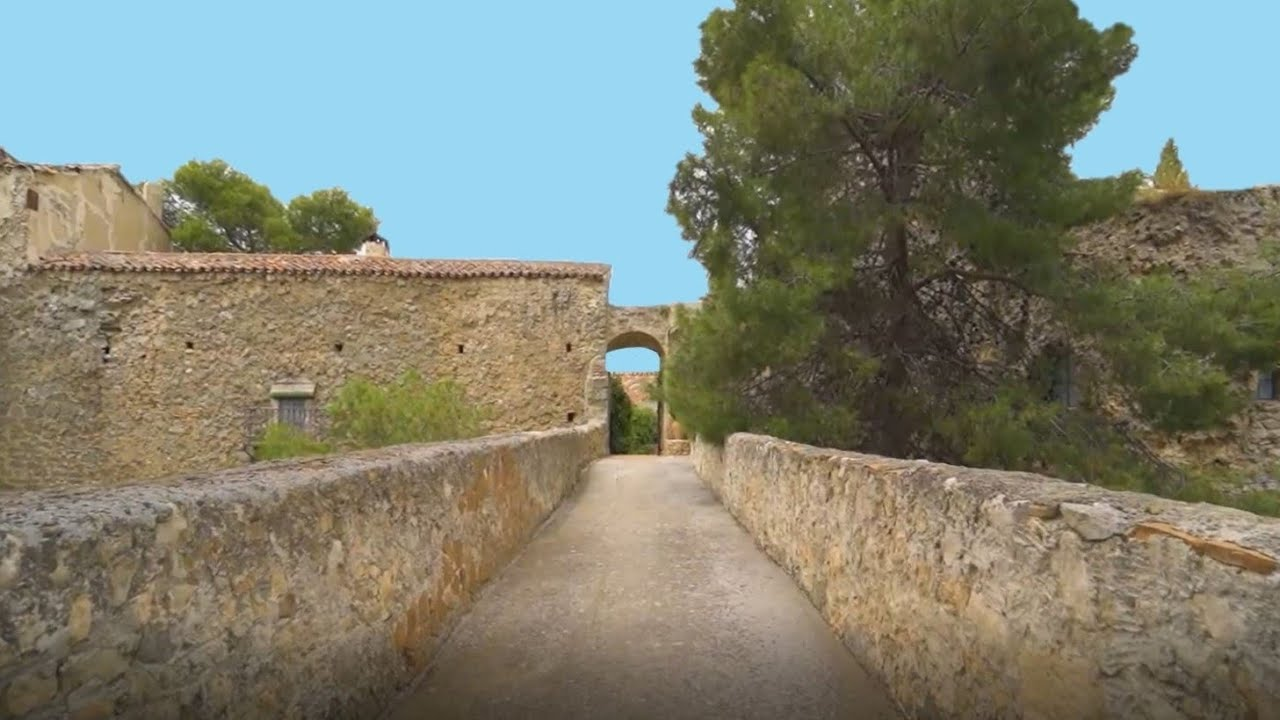 Unique Spanish Castle For Sale with Amazing Master Suite.  300 Hectares, Vineyard, Olive Groves.