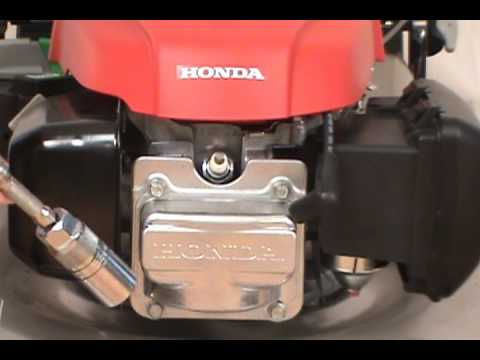 Replacing the Spark Plug - Honda Lawn Mower