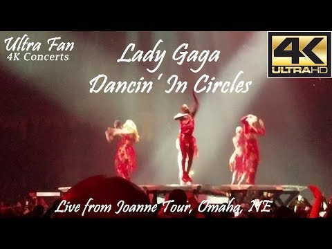 Lady Gaga - Dancin' In Circles Live from Joanne Tour Omaha, NE
