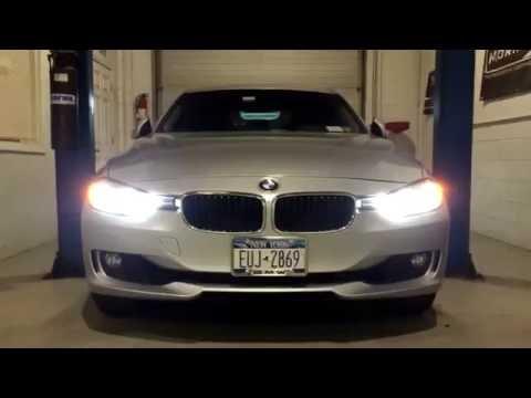 BMW F30 Halogen To Bixenon Projector Conversion