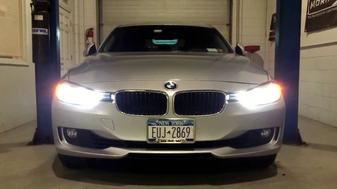 Bmw F30 Halogen To Bixenon Projector Conversion Youtube