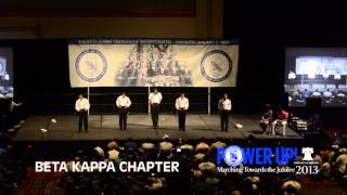 Beta Kappa Chapter of Phi Beta Sigma at 2013 Conclave