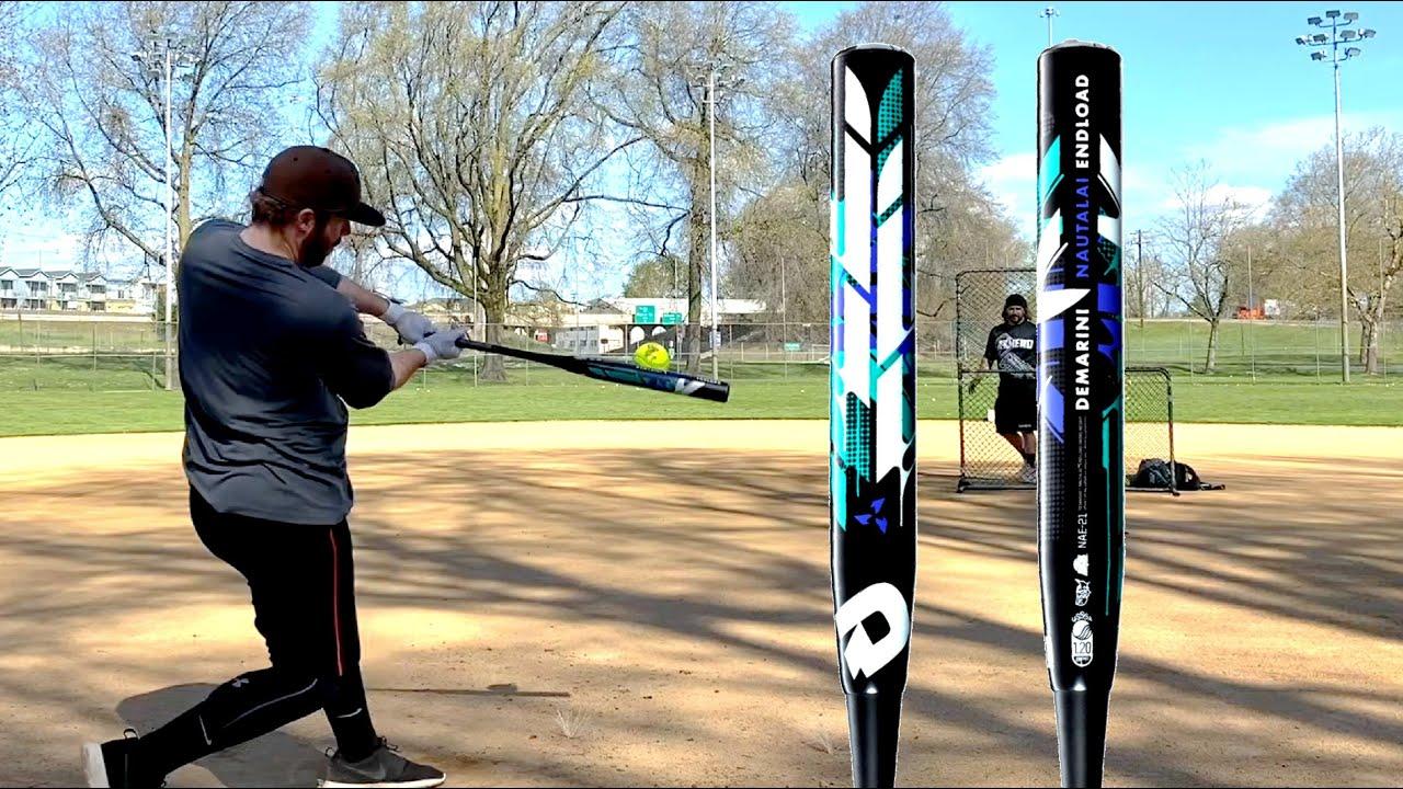DeMarini 2021 Nautalai Endload Slowpitch Softball Bat