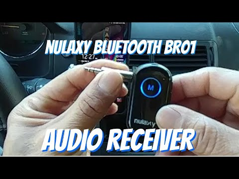 Nulaxy Bluetooth Audio Receiver for Bluetooth Speaker, Home Stereo Etc. Add BR010515 Code Save 20%