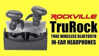 REVEIW Rockville TruRock TWS - Truly Wireless Bluetooth Earbuds