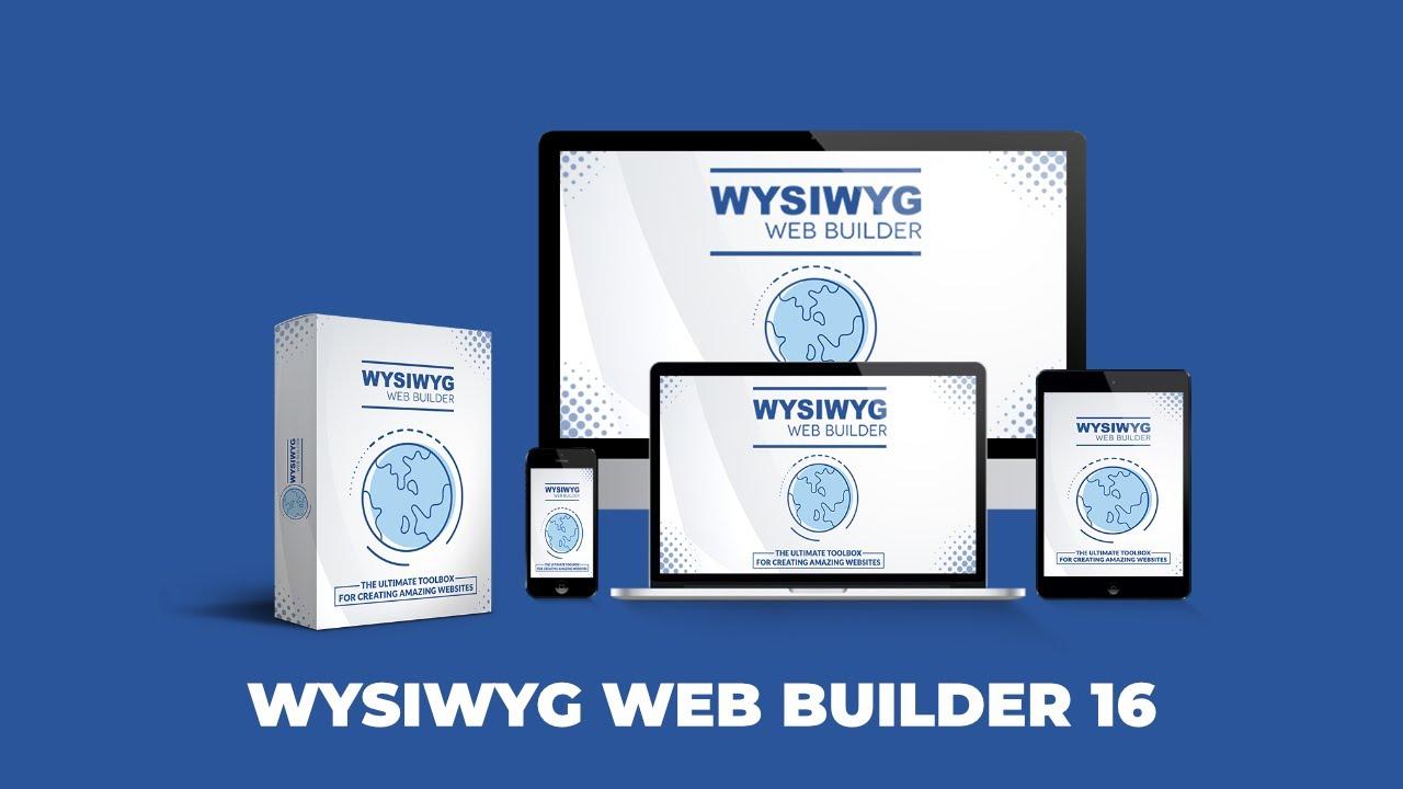 WYSIWYG Web Builder Free Download