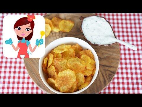 Fırında Patates Cipsi Tarifi - Kevserin Mutfağı - Yemek Tarifleri