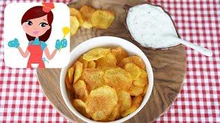 Fırında Patates Cipsi Tarifi  Kevserin Mutfağı  Yemek Tarifleri