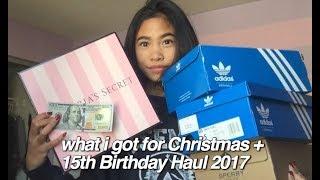 What I Got For Christmas & 15th Birthday Haul 2017! (Lulu