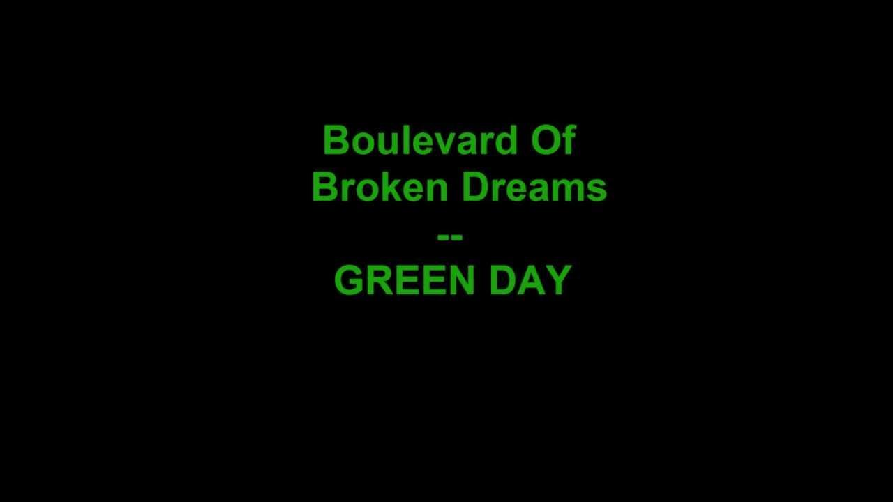 Green day boulevard