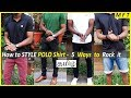 How to wear a POLO shirt | 5 STYLISH ways explained in TAMIL | Mens Fashion Tamil