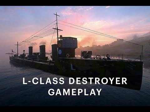 🔲 Battlefield 1 CTE New L-Class Destroyer Gameplay 🔲