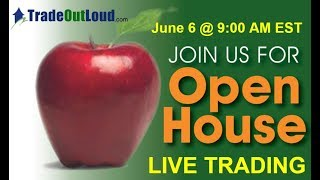 OPEN HOUSE LIVE TRADING JUNE 6. 2019 #Futures