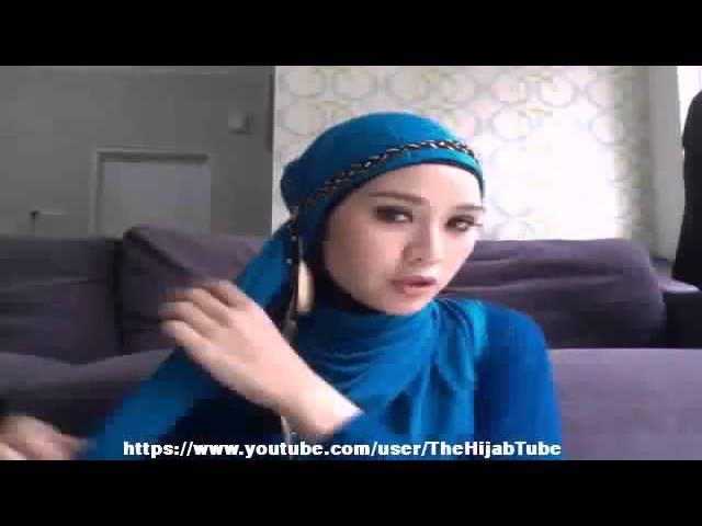 Tutorial Hijab Zaskia Mecca Hijabfest