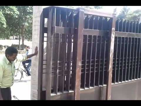 Automatic Telescopic Sliding Gate Youtube