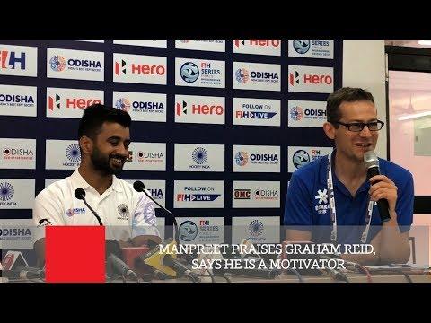 Manpreet Praises Graham Reid, Says He Is A Motivator
