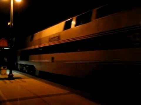 Amtrak Sunset Limited, July 2003, El Monte, CA Metrolink sta