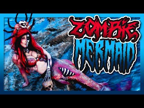 ZOMBIE MERMAID    NYX Challenge #2    #FACEAWARDSGERMANY