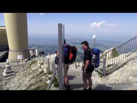 Bergtour auf den Säntis Schweis