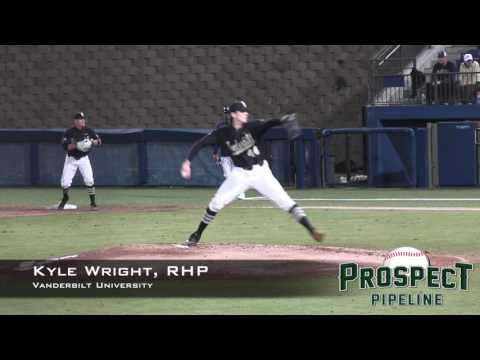 Kyle Wright Prospect Video, RHP, Vanderbilt University, Side Angle
