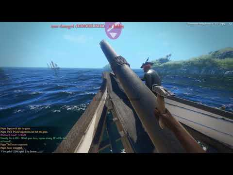 Blackwake: A bit of everything   crewing the galleon
