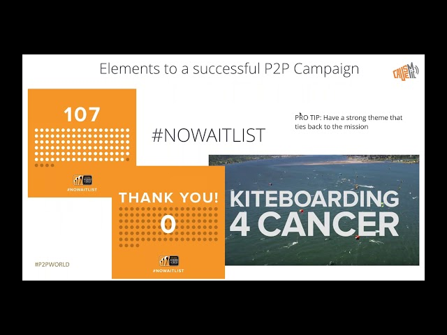 Low Barriers, Deep Engagement for P2P Fundraising Success