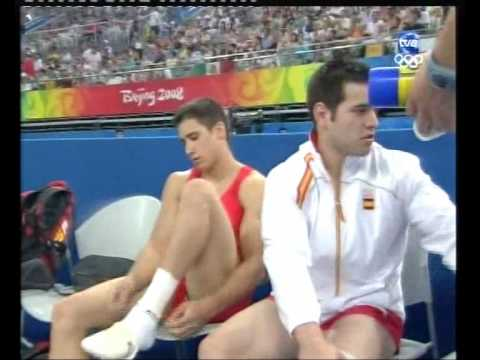 Hot gymnast: Spanish gymnast