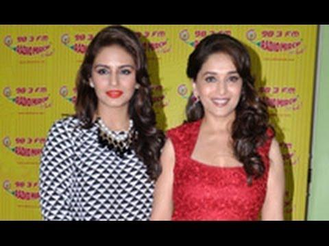 Madhuri & Huma Promote 'Dedh Ishqiya' at Radio Mirchi | Trailer | Arshad, Naseeruddin Shah