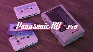Panasonic RQ-340 - Using an 80's Tape Recorder