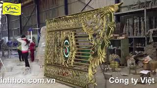Cổng nhôm đúc Bà Rịa - Vũng Tàu