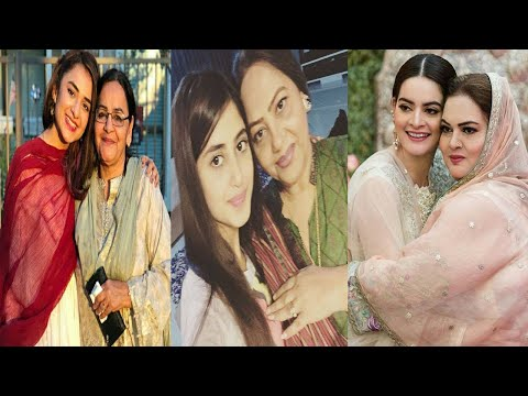 Pakistani Famous Actresses Who Look a Like Their Mothers
